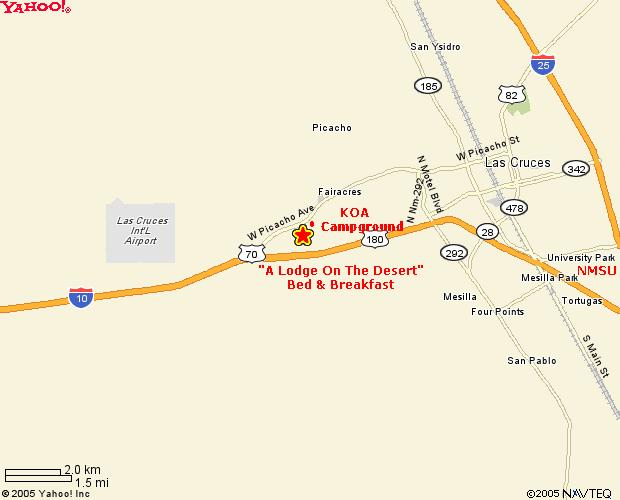 Las Cruces New Mexico Campground Las Cruces Koa  2018 Car